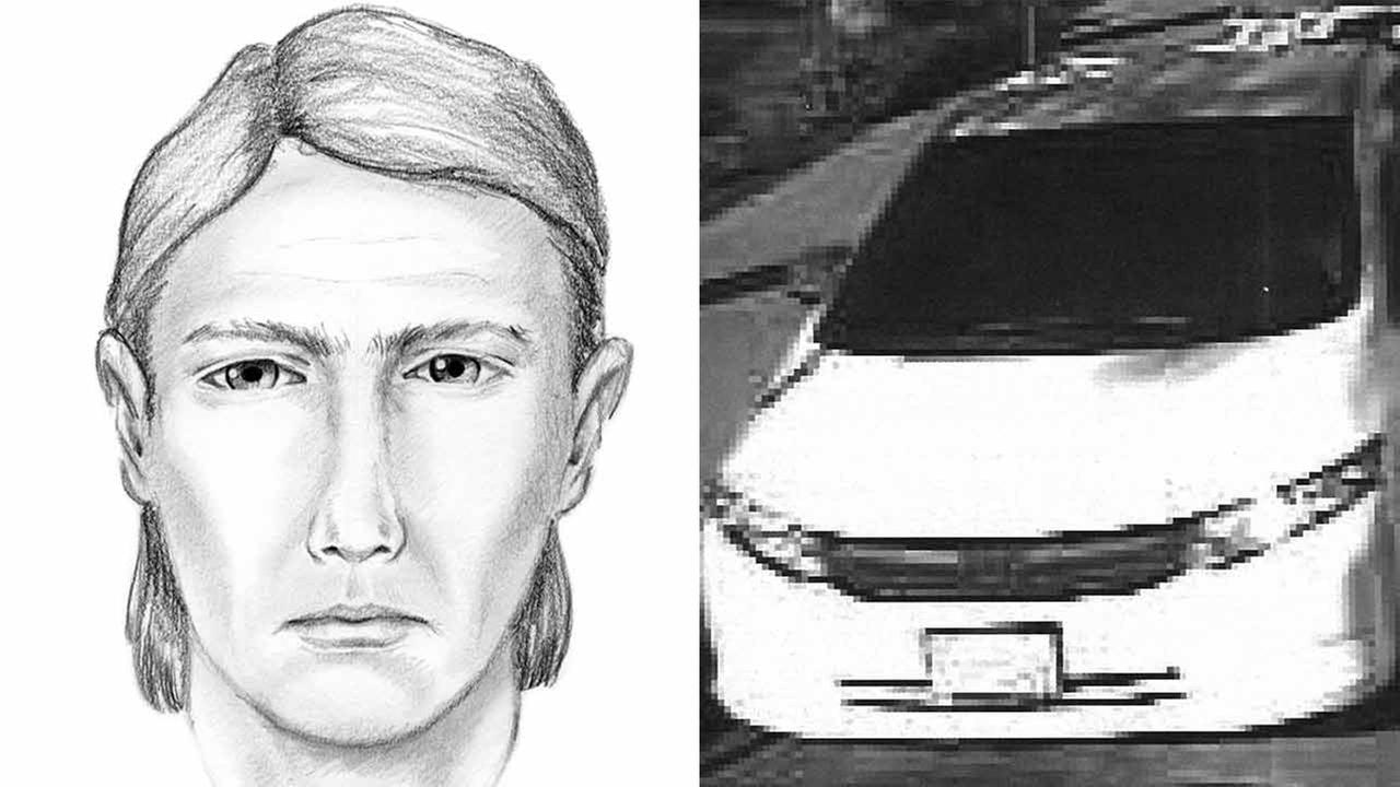 Police released this composite sketch of a suspect wanted for exposing himself to children in Long Beach.