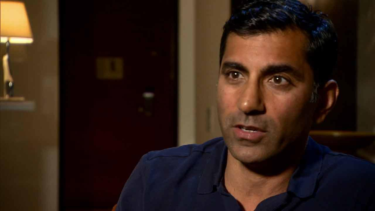 Dr. Sanjay Khurana talks about pulling Harrison Ford out of a crashed plane in Venice on Thursday, March 5, 2015.