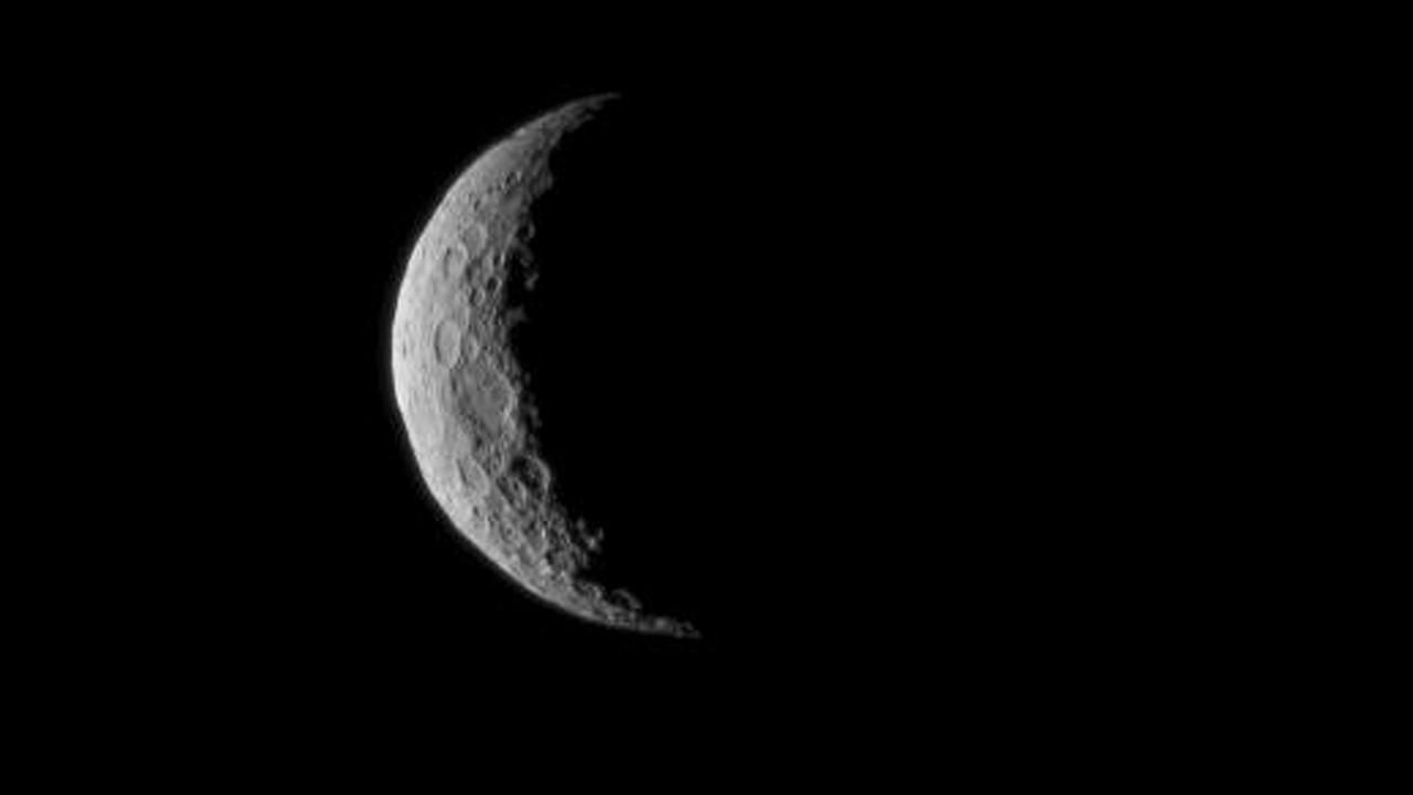 In this March 1, 2015 photo, Ceres is seen from NASAs Dawn spacecraft just a few days before the mission achieved orbit around the previously unexplored dwarf planet to begin a 16-month exploration. The image was taken at a distance of about 30,000 miles