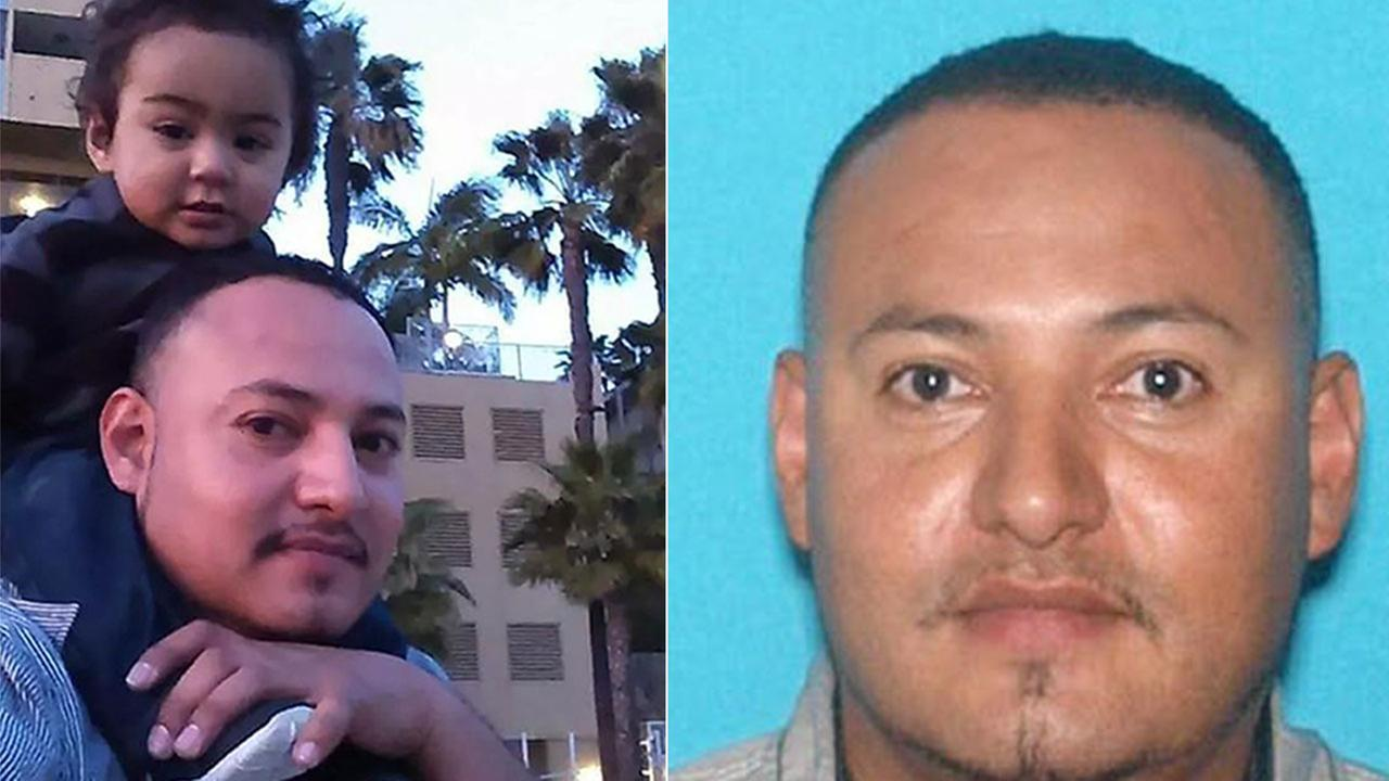 Giovany Santiago-Enriquez, 37, abducted his son Jayden Nathaniel Santiago from his ex-girlfriends home in the 500 block of West 15th Street in San Pedro Monday, March, 9, 2015.
