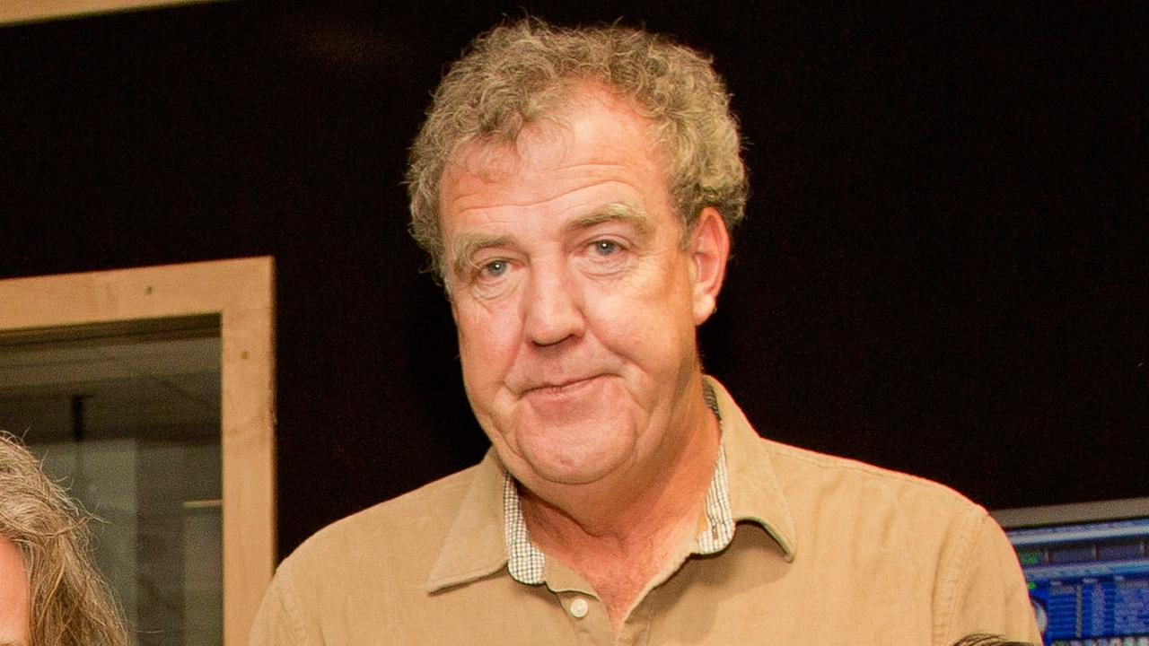 Top Gear host Jeremy Clarkson chats with Absolute Radio presenter Christian OConnell at Absolute Radio studios on Thursday, Nov. 29, 2012, in London.