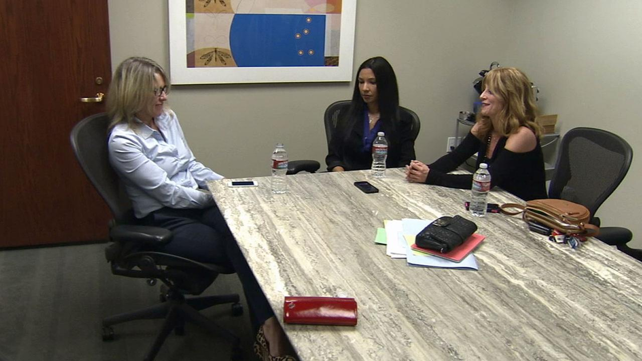 Three of four mothers suing an Agoura Hills daycare for allegedly disciplining their children by pressing push pins into their legs are speaking out.