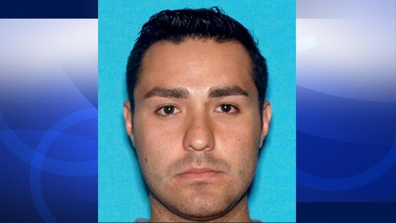 Henry Solis, 27, shown above, was named as a person of interest in the murder of a 23-year-old Ontario man on Friday, March 13, 2015.