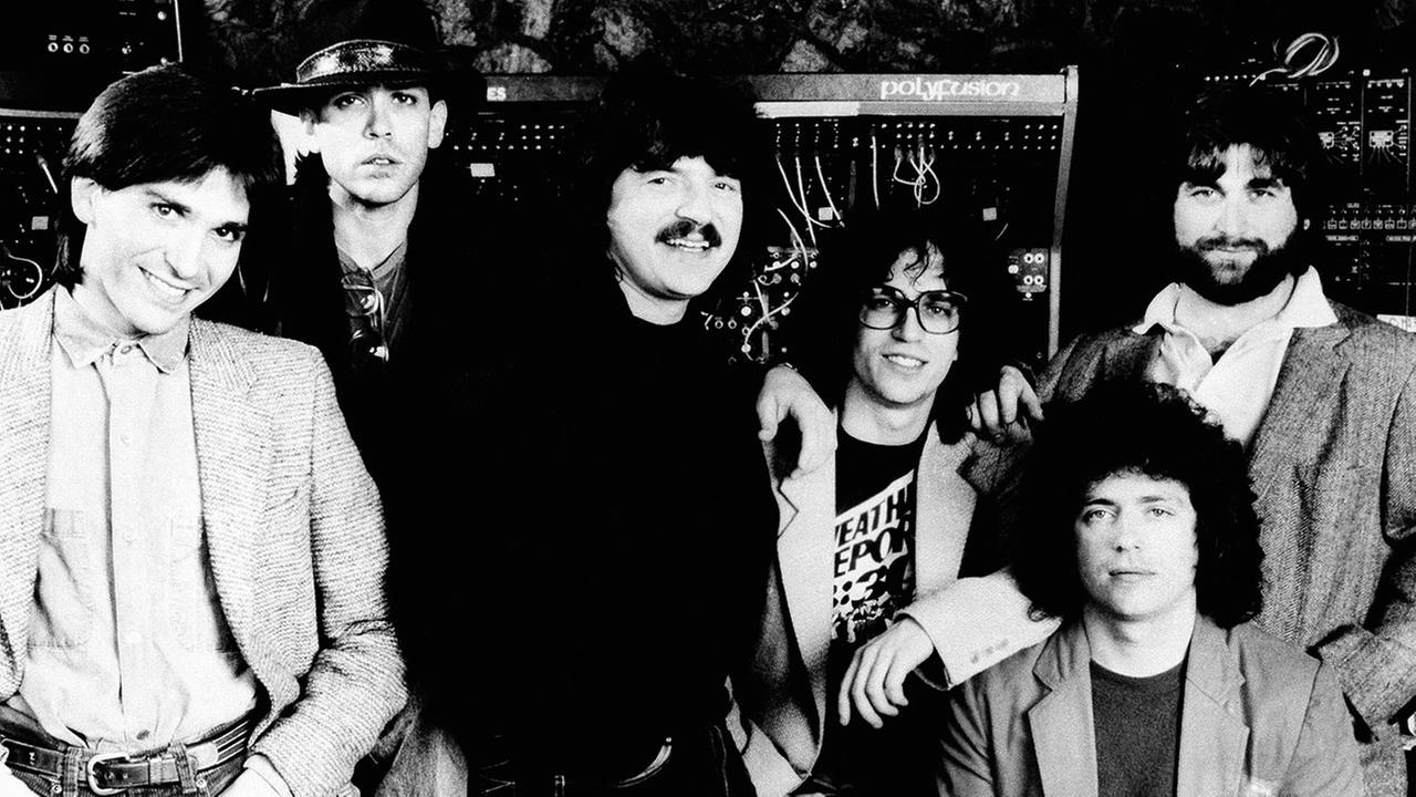 Former Toto bass player Mike Porcaro (left) died Sunday, March 15, 2015 at age 59. No cause was given, but he had suffered from Lou Gehrigs disease for several years.AP Photo