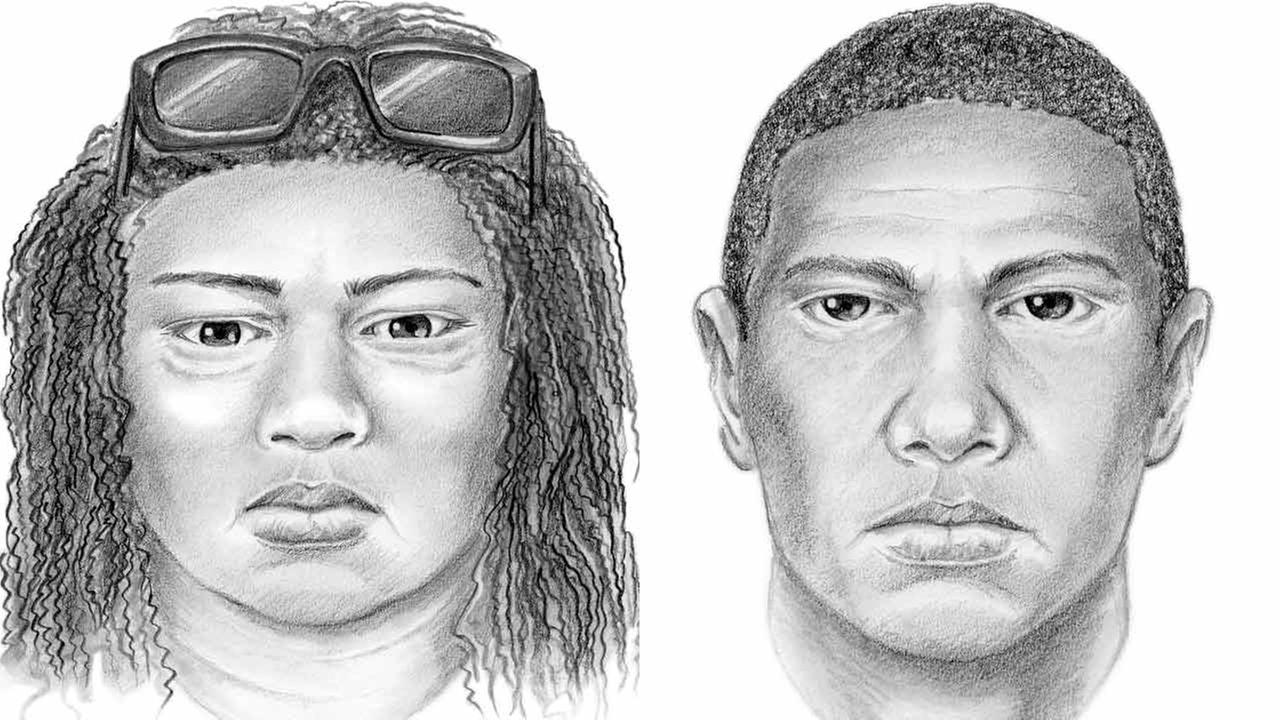 Police released new evidence, including suspect sketches, in the case of a 3-week-old baby found dead in a dumpster after her family was shot in Long Beach in January 2015.