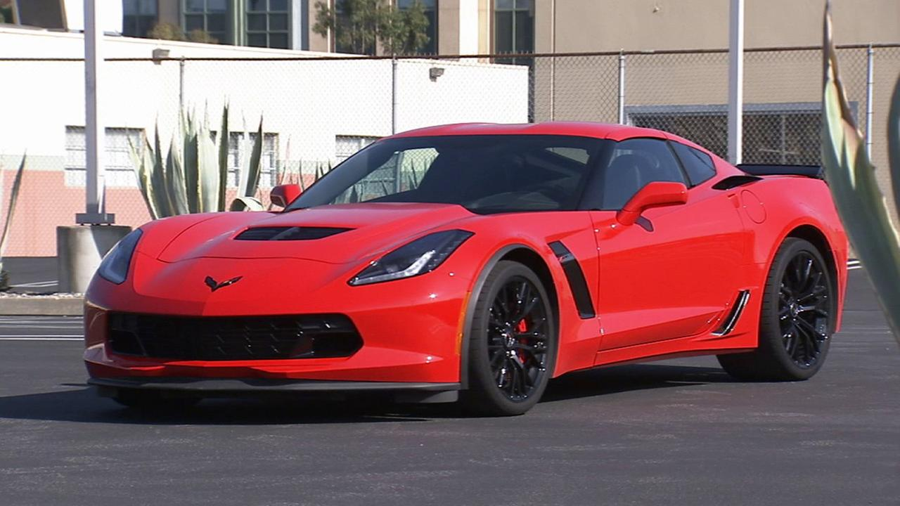 A 2015 Corvette Z06 is shown in this undated file photo.