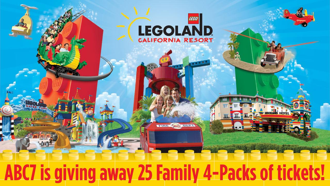 Win a family 4-pack to LEGOLAND California Resort