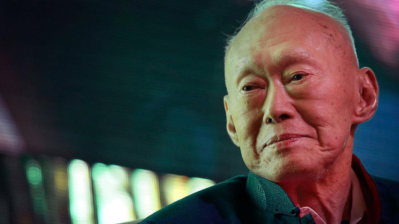 Singapores first Prime Minister Lee Kuan Yew died Monday, March 23, 2015. Lee is seen at the Standard Chartered Singapore Forum in Singapore in this March 20, 2013 file photo.