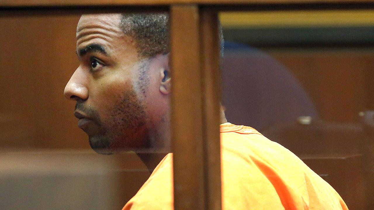In this April 18, 2014 file photo, former NFL football All-Pro safety Darren Sharper appears in Superior Court in Los Angeles.