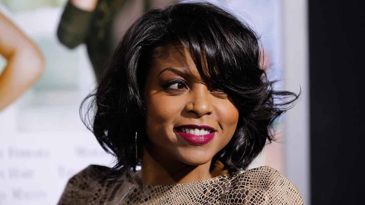 Taraji P. Henson poses at The Pan African Film and Arts Festivals opening night premiere of Screen Gems Think Like a Man in Los Angeles, Thursday, Feb. 9, 2012.