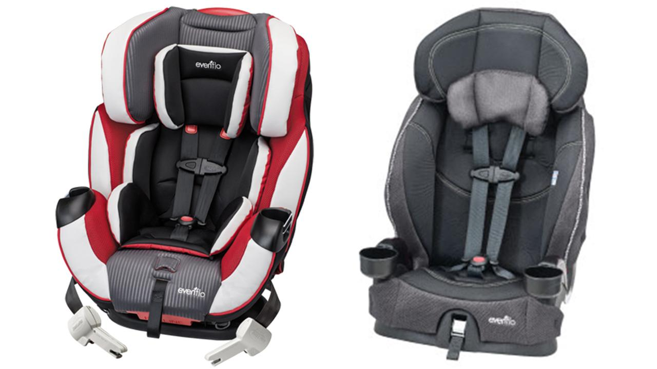 Evenflo Recalling Child Car And Booster Seats Abc7 Com