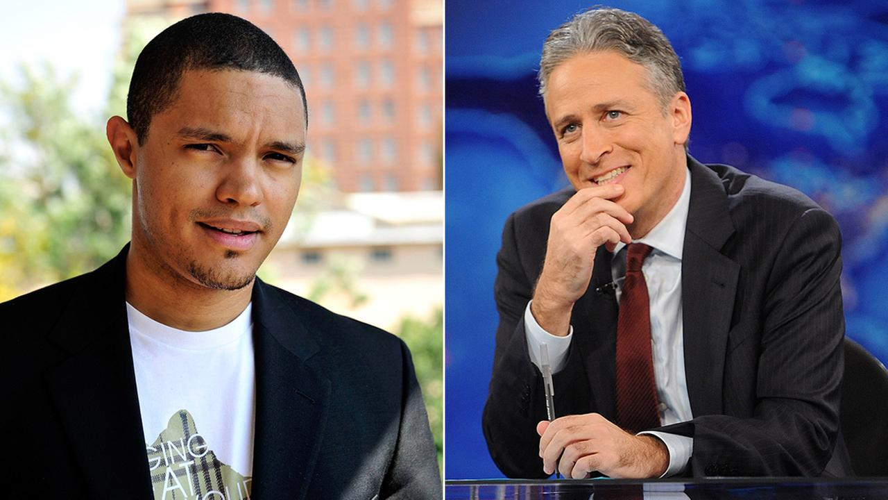 Comedy Central has named Trevor Noah (left), a 31-year-old comedian from South Africa, as Jon Stewarts replacement on The Daily Show.