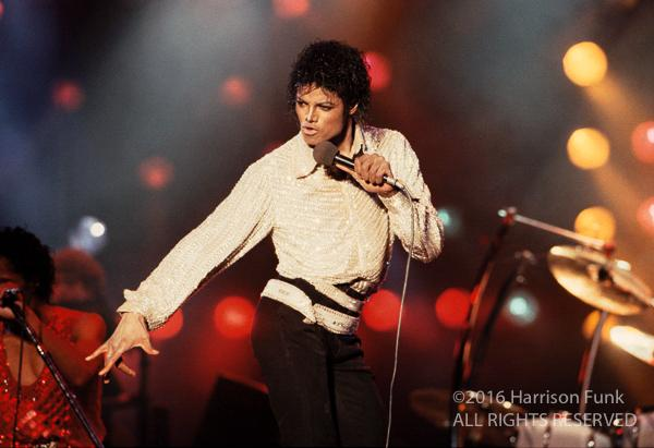 <div class='meta'><div class='origin-logo' data-origin='none'></div><span class='caption-text' data-credit='Harrison Funk/ALL RIGHTS RESERVED'>Michael Jackson onstage during the 1984 Victory Tour.</span></div>