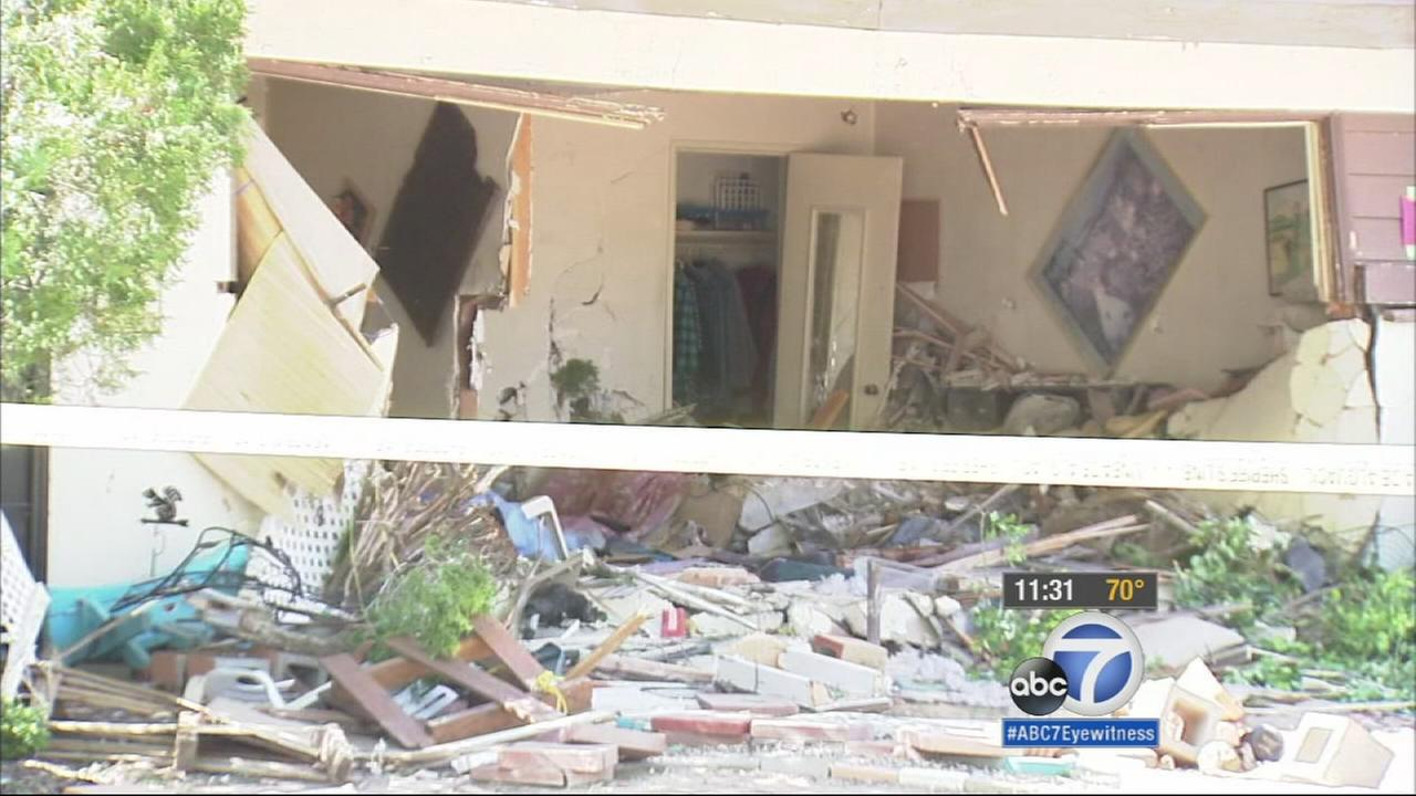 A suspected drunk driver slammed a truck into a Lancaster home, killing a woman in her 70s.