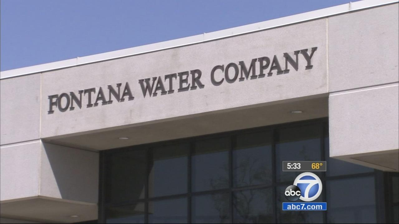 The Fontana Water Company is being sued by other agencies who claim its been pumping at least three times its fair share of water from the Rialto-Colton groundwater basin.