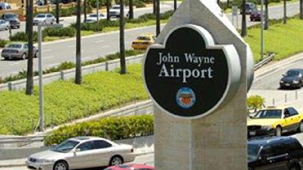 John Wayne Airport in Santa Ana is shown in this undated file photo.
