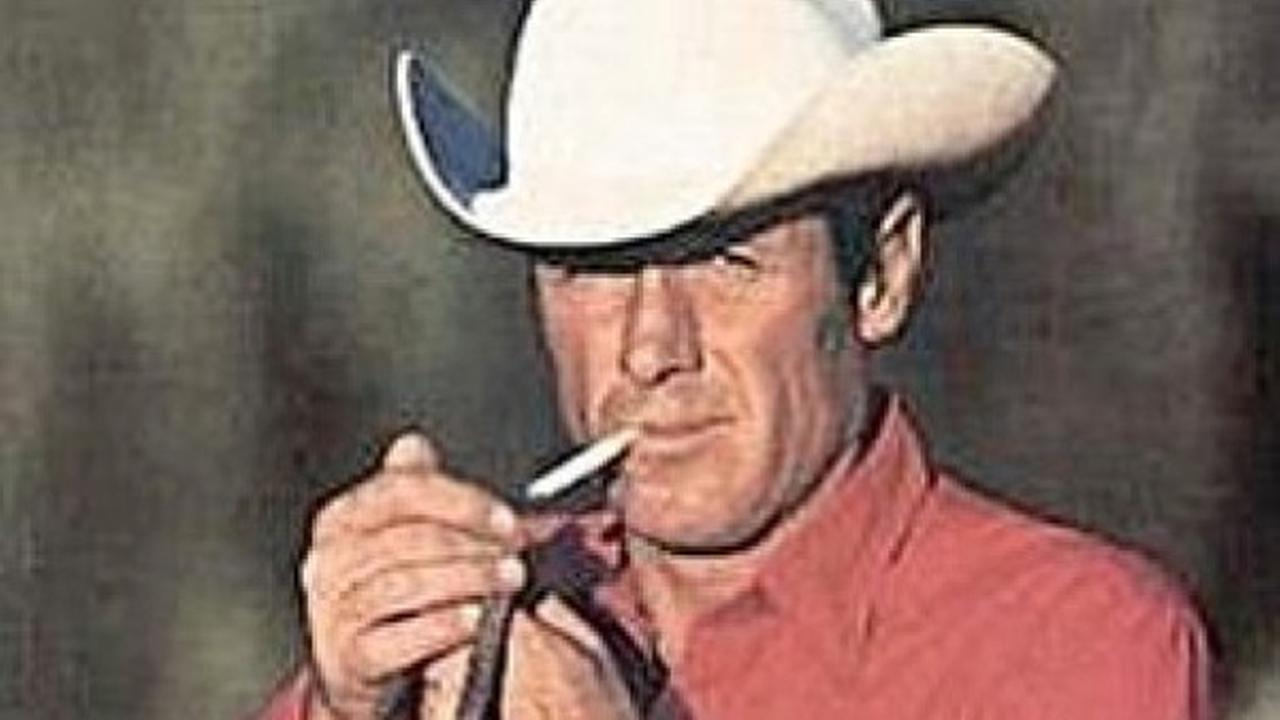 Eric Lawson, who portrayed the rugged Marlboro man in cigarette ads during the late 1970s, died Friday, Jan. 10, 2014, of respiratory failure due to chronic obstructive pulmonary disease. He was 72.Marlboro cigarette ad