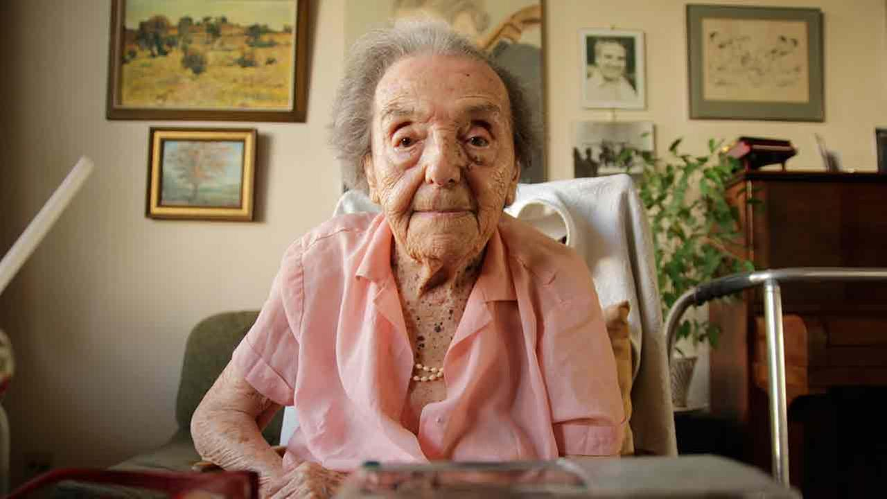 Alice Herz-Sommer, believed to be the oldest-known survivor of the Holocaust, died in London on Sunday, Feb. 23, 2014. She was 110.Photo provided by the makers of the documentary 'The Lady in Number 6'