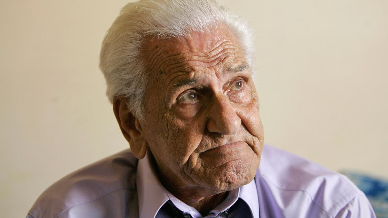 William Wild Bill Guarnere, whose World War II service as a member of the Armys famed Easy Company was recounted in Band of Brothers, died, Saturday, March 8, 2014. He was 90. <span class=meta>(Matt Rourke)</span>