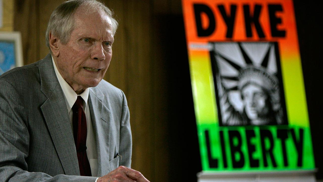Pastor Fred Phelps Sr., the founder of the anti-gay Westboro Baptist Church, died Thursday, March 20, 2014. He was 84. <span class=meta>(Charlie Riedel)</span>
