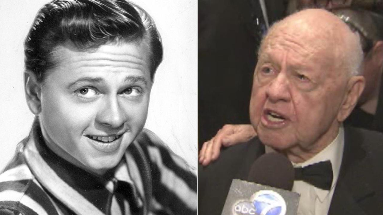 Actor Mickey Rooney died of natural causes at his North Hollywood home on Sunday, April 6, 2014. He was 93.AP / KABC