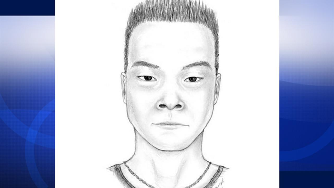 Police released a sketch of the suspect accused of robbing and trying to kidnap a UCLA student.