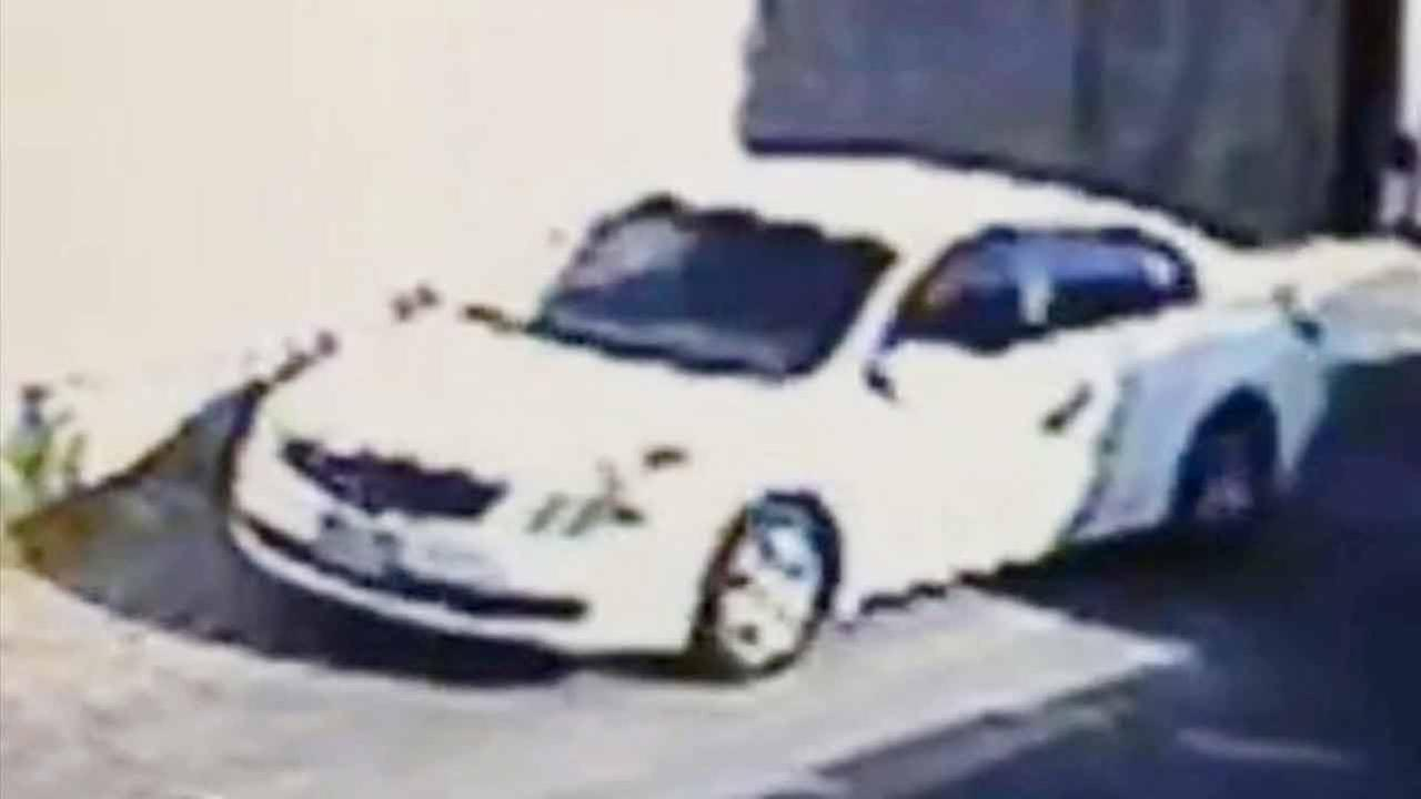 Police are searching for a suspect in a white Nissan Altima who allegedly kidnapped a 2-year-old girl from a car wash in Gardena Thursday afternoon and dropped her off in Cudahy.