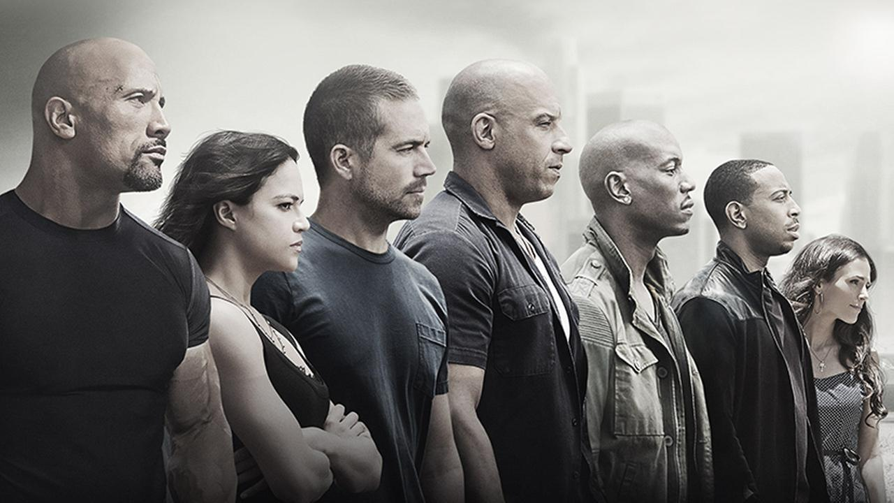 The stars of the Fast and Furious franchise are shown in this undated movie poster.