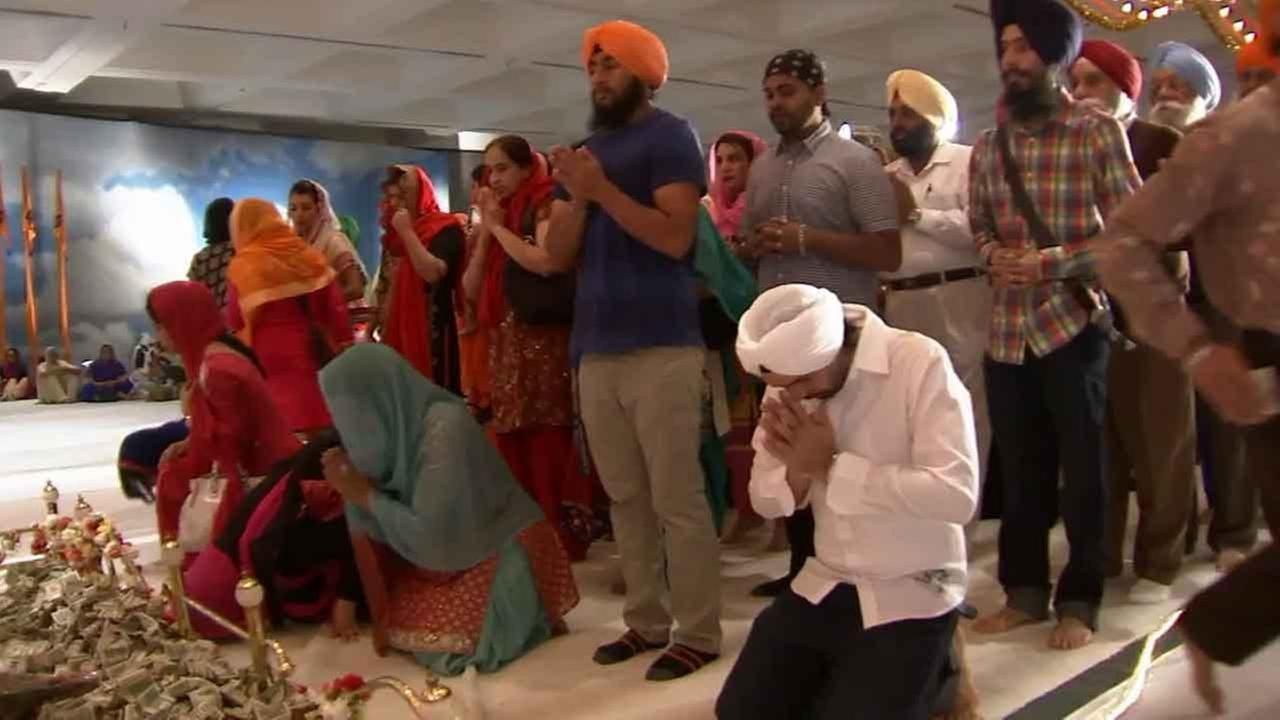 The Sikh community of California celebrated Baisakhi at the Los Angeles Convention Center Sunday, April 5, 2015.