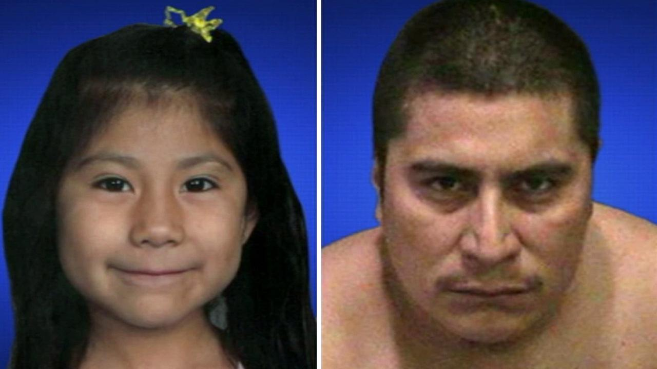 Antolin Brito-Soto, 33, and his daughter Yuliana, 5, who died in a suspected DUI crash are shown in these undated photos.