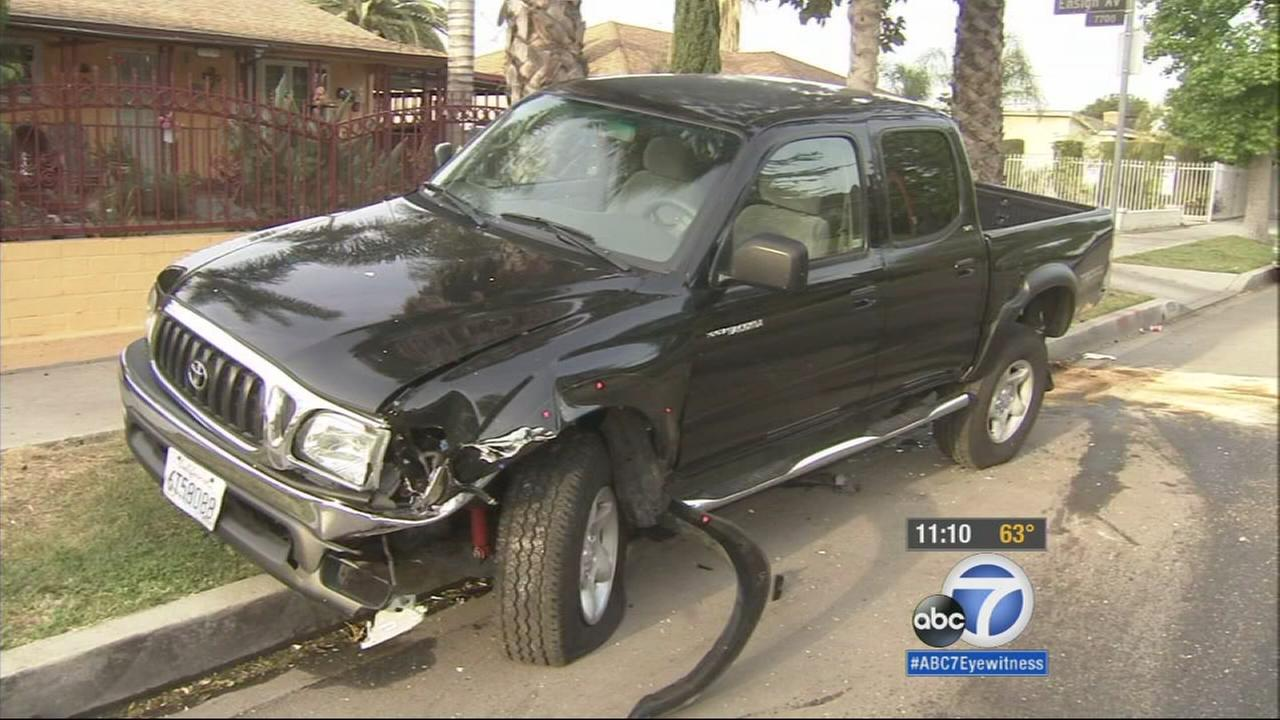 Residents in a Sun Valley neighborhood were in for a shock when they woke up to find their vehicles damaged on Friday, April 10, 2015.