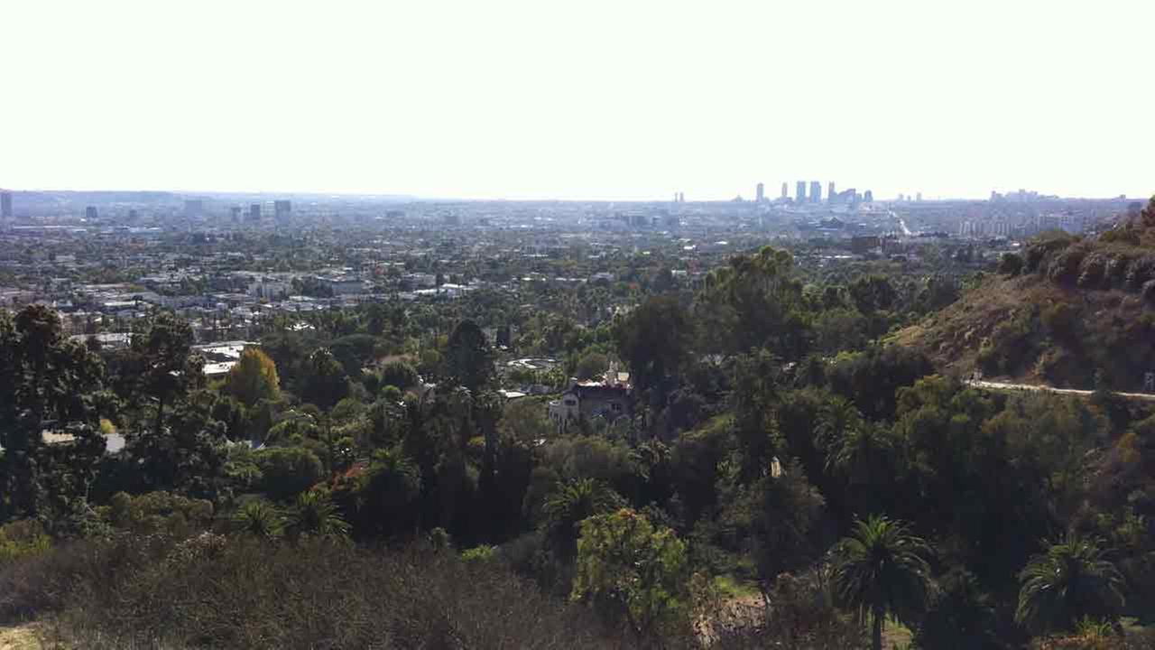 Runyon Canyon Park is shown in this undated file image.