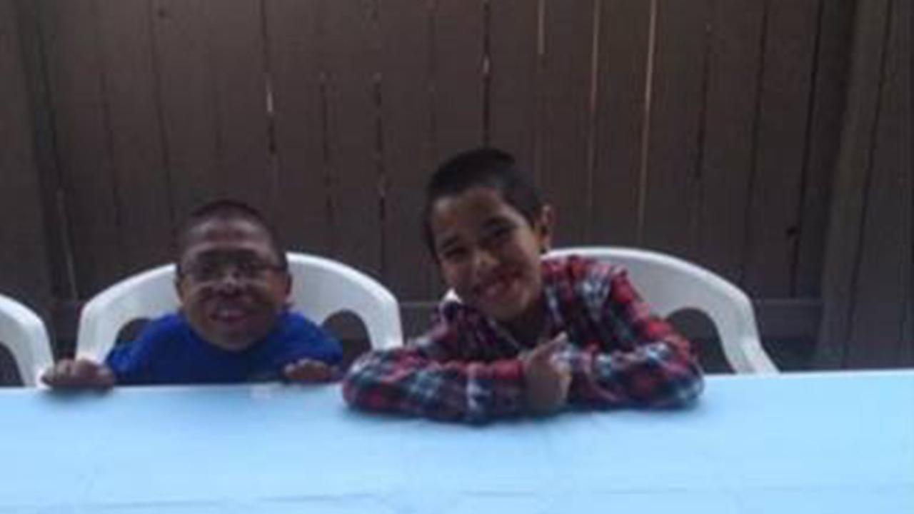 Only one person showed up for Pedro Flores 11th birthday party in Oxnard on Saturday, April 18, 2015.