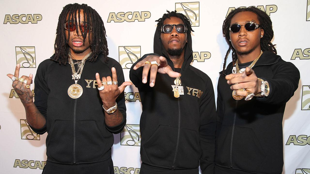 Music group Migos attend the ASCAP Presents The 2015 Grammy Nominees Brunch on Saturday, Feb. 7, 2015 at the SLS Hotel Beverly Hills.