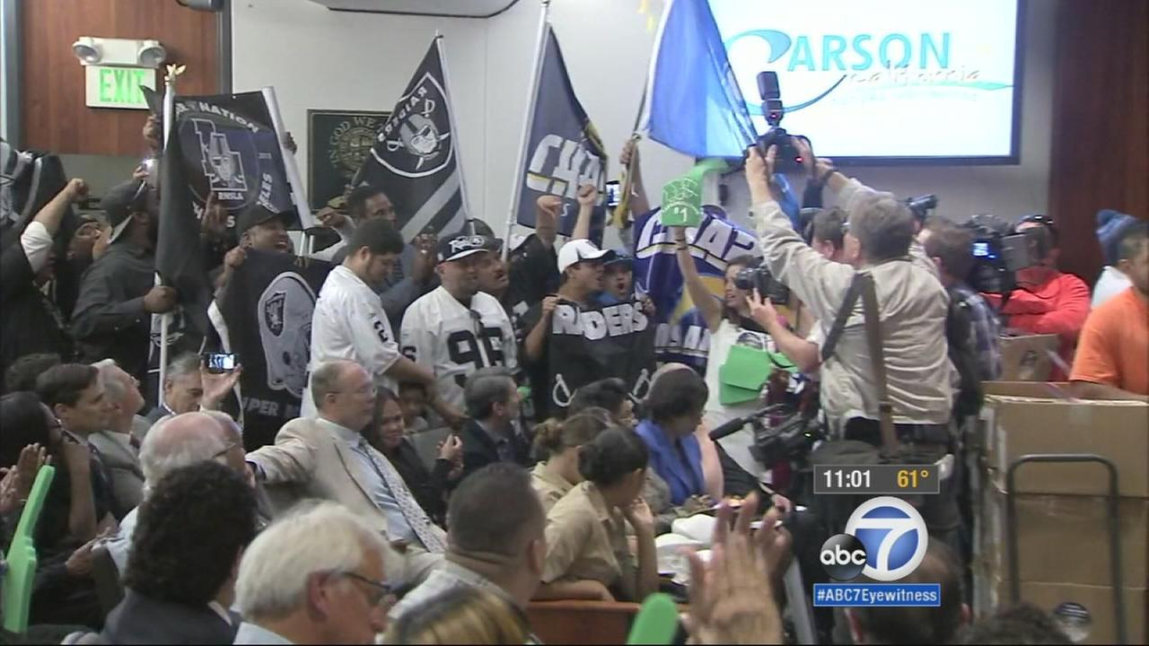 Carson City Council Approves Potential Nfl Chargers