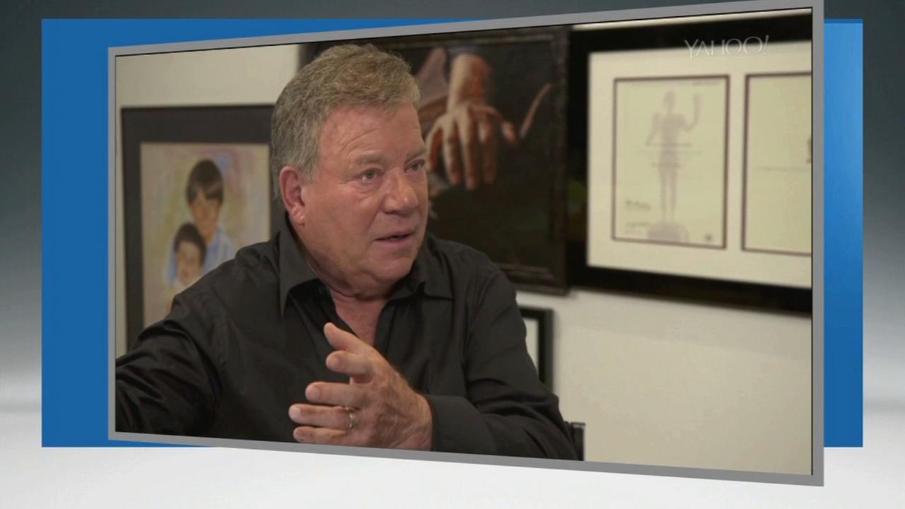 William Shatner talks about his water proposal in an interview with Yahoo!