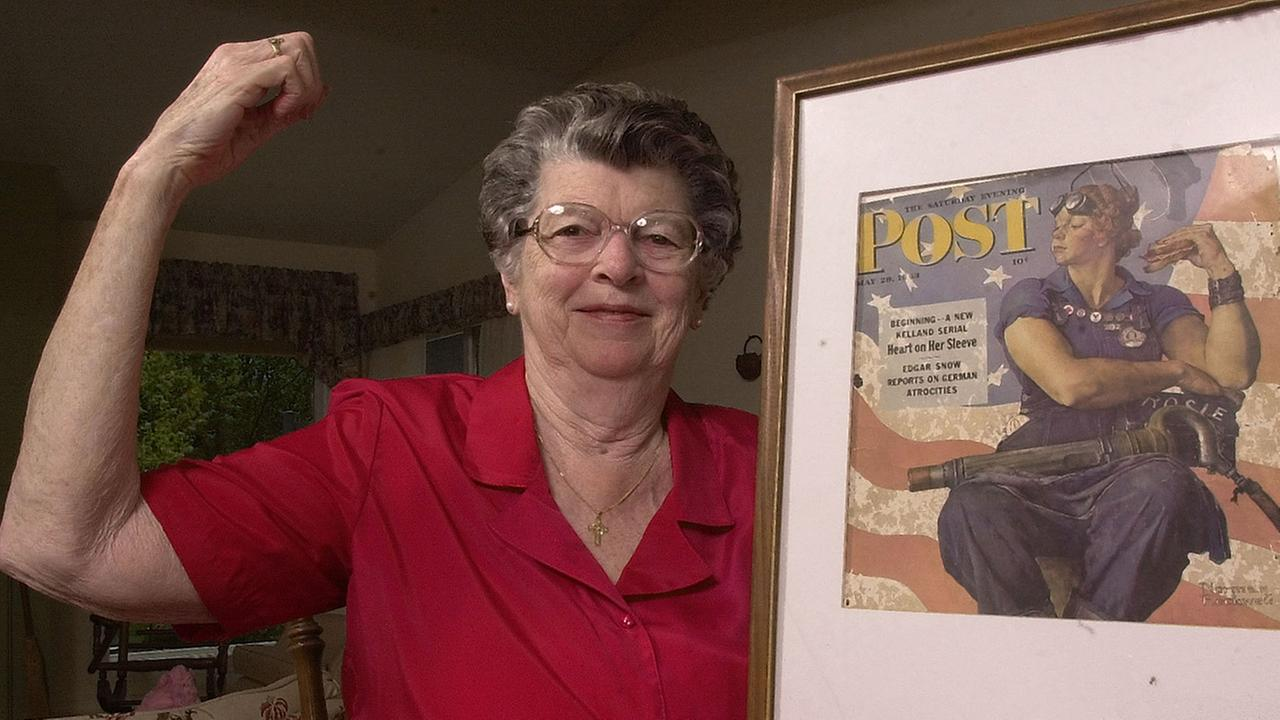 Mary Doyle Keefe, the model for Norman Rockwells iconic 1943 Rosie the Riveter painting, died Tuesday, April 21, 2015. She was 92.