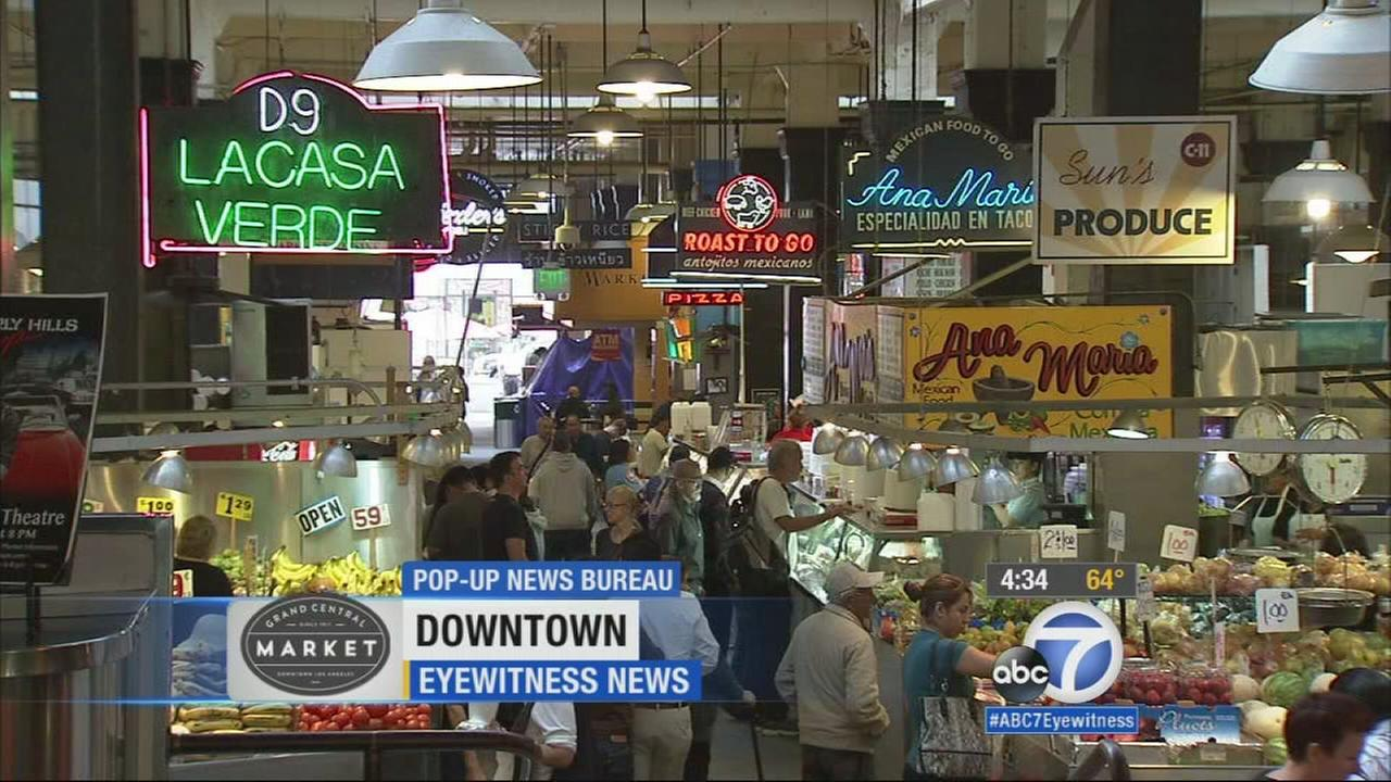 From fresh oysters that were flown in from Oregon to carnitas slow-cooked to perfection, Grand Central Market in downtown Los Angeles offers a remarkable culinary palate.