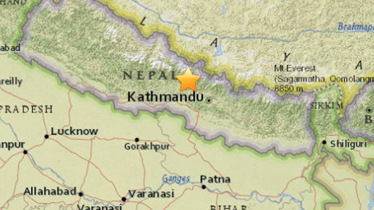 7.5-magnitude earthquake rocks Nepal; damage reported | abc7.com