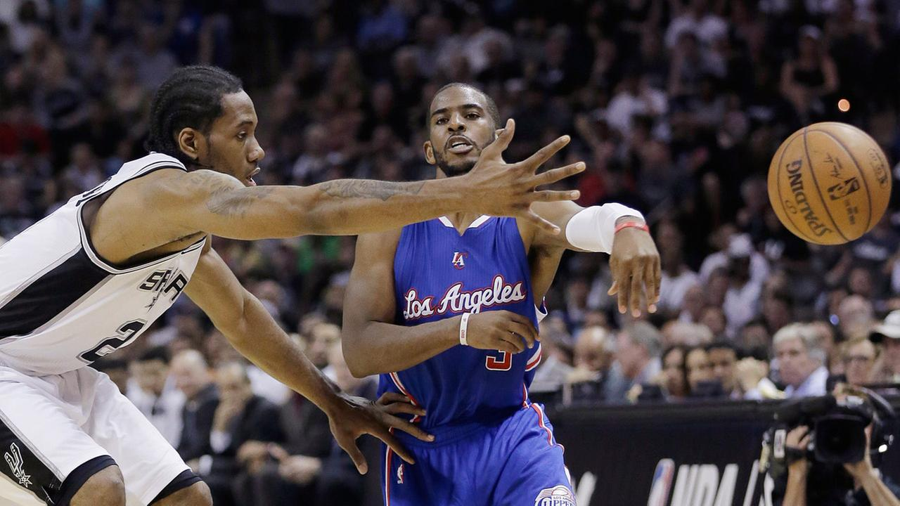 Clippers Beat Spurs 114 105 2 Series Abc7 Kmart