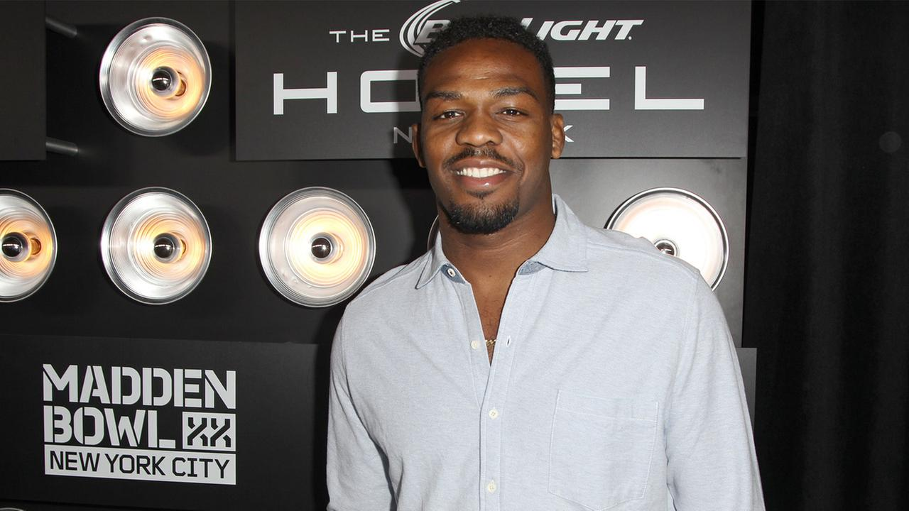 Jon Jones attends the EA SPORTS Madden Bowl XX, on Thursday, Jan. 30, 2014 in New York.