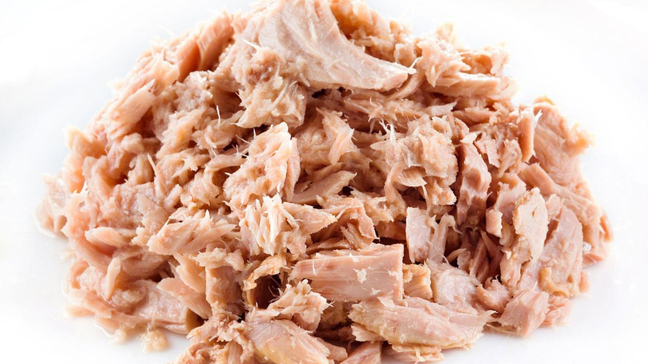 Canned tuna is seen in this undated file photo.