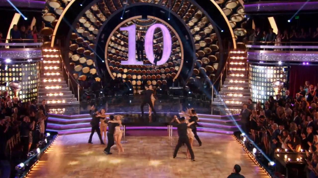Dancing With The Stars celebrates 10 years with a star-studded blast from the past.
