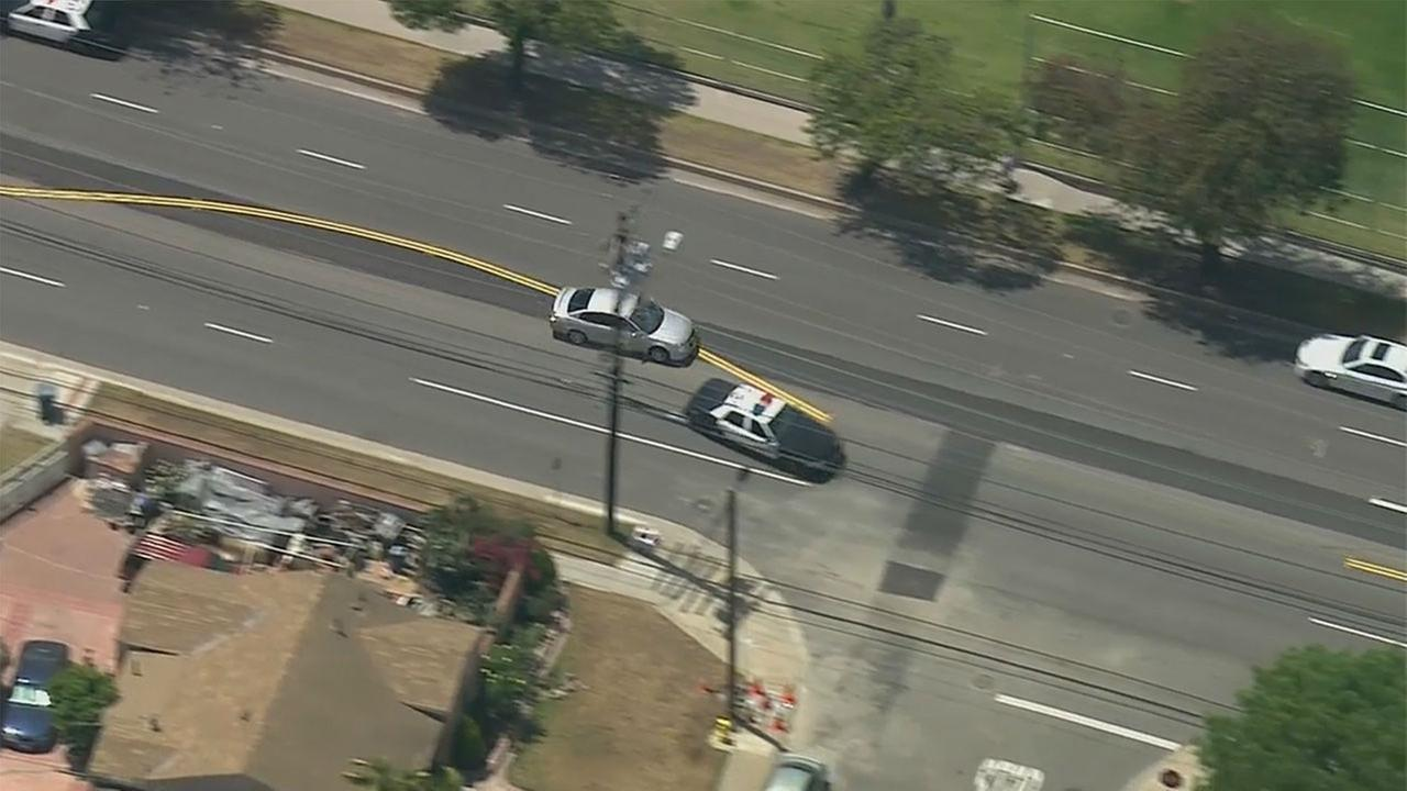A 15-year-old girl in a silver Nissan Altima led sheriffs deputies on a wild chase through the streets of Compton and South Los Angeles Thursday, April 30, 2015. KABC