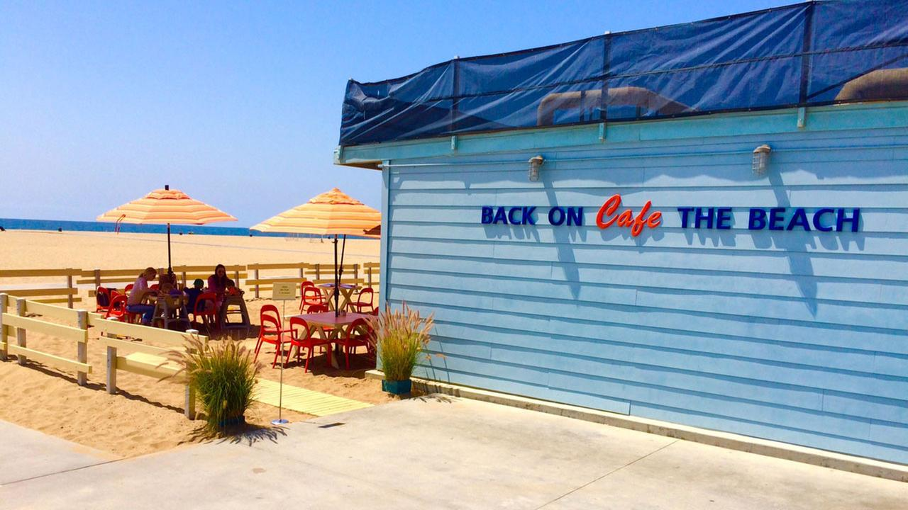 Located on Pacific Coast Highway in Santa Monica, Back On The Beach is right behind the Annenberg Community Beach House.