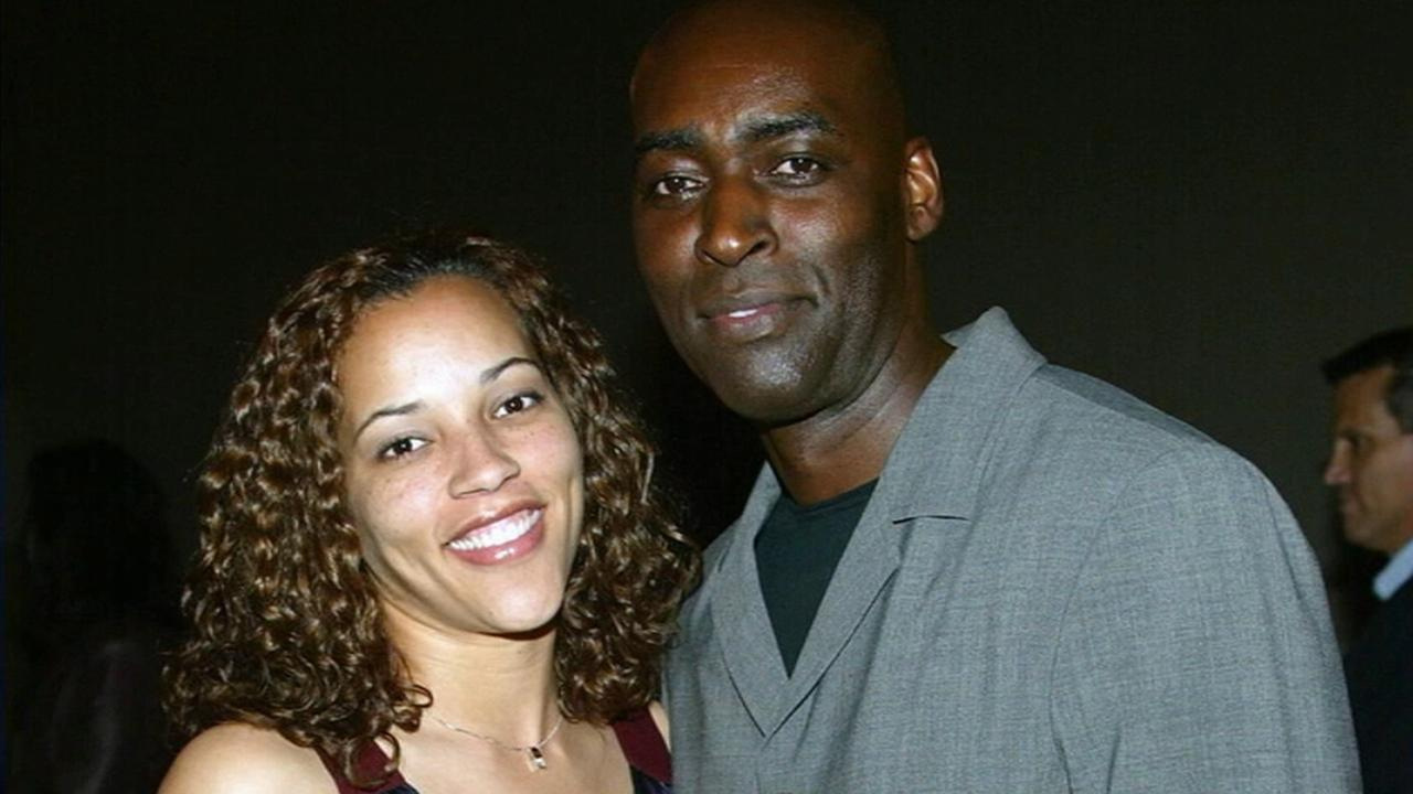 April and Michael Jace are shown in this undated file photo.