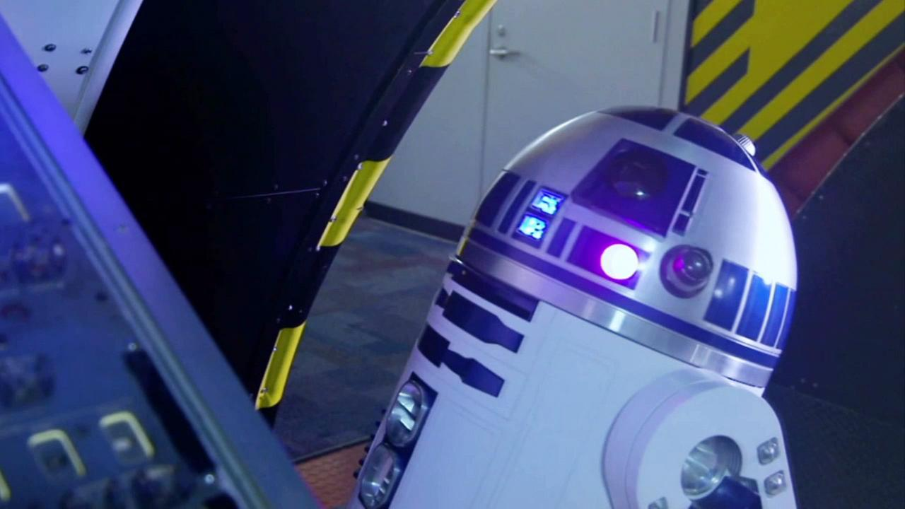 R2-D2 is shown in a video made by NASA to commemorate May 4.