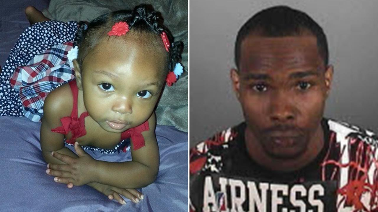 Randy Green is suspect of taking his 14-month-old daughter Raniyah Green from her grandmothers Leimert Park home on Tuesday.