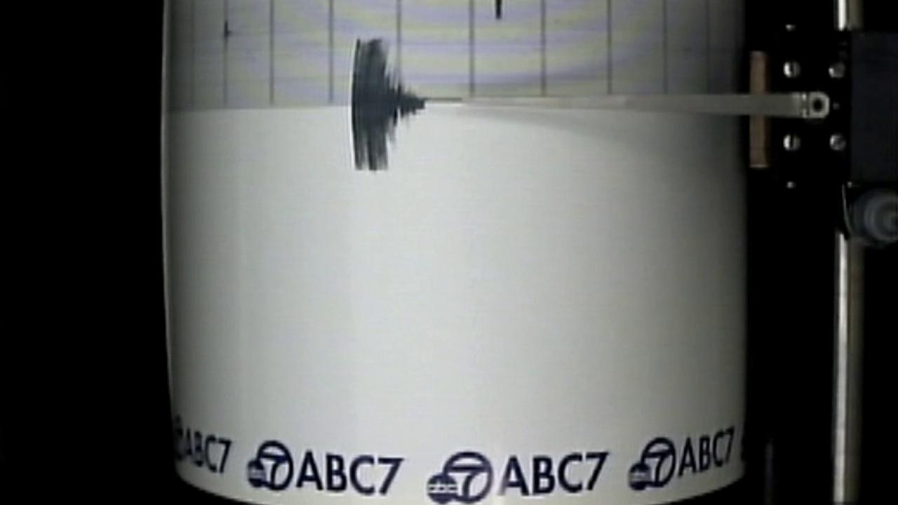 The ABC7 quake cam captured a magnitude-3.9 earthquake that struck in Riverside County on Wednesday, May 6, 2015.