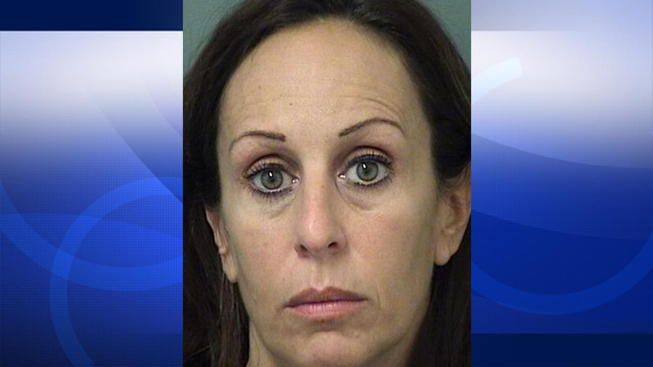 This booking photo released by the Palm Beach (Fla.) Sheriffs Department shows Krista Eve Morton.